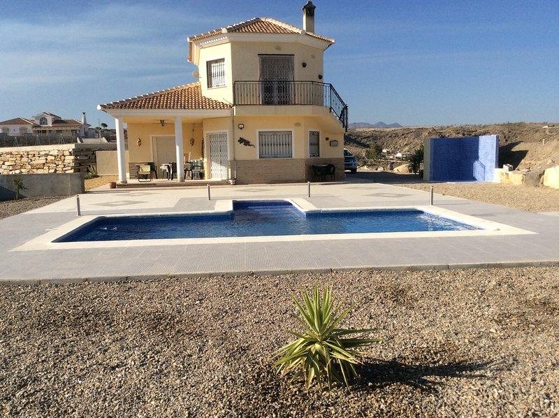 impresionantes vistas Villa de lujo 5 estrellas, una de las mejores posiciones en el área partaloa 4 dormitorios 3 baño de la piscina