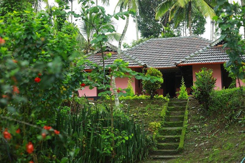 The farm villas is traditional 'Tharavadu' 100 yeras old., holiday rental in Meenangadi
