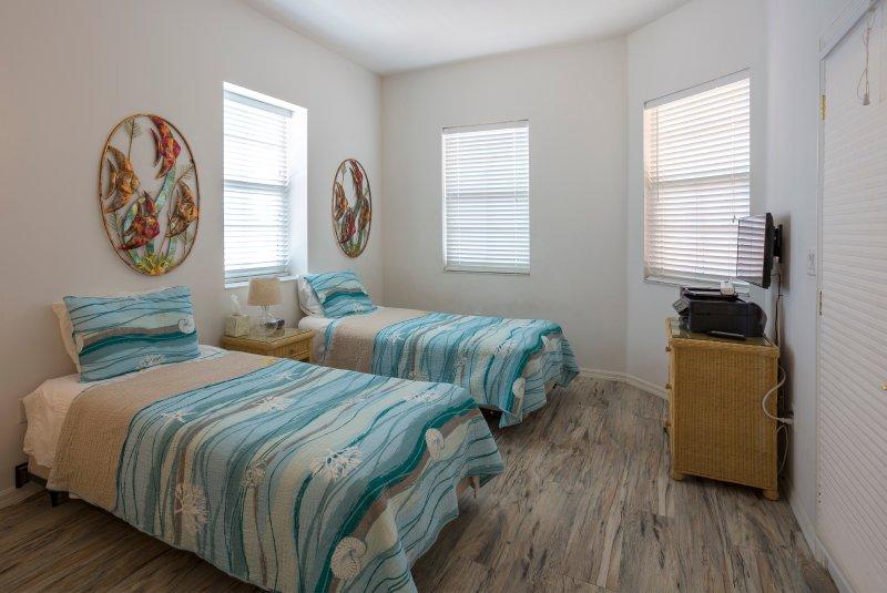 3rd Bedroom Twin Beds- Appropriate for children or young adults