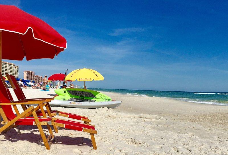 Windward Pointe 1104 é um condomínio 3q / 2ba golfo frente em Orange Beach, AL.