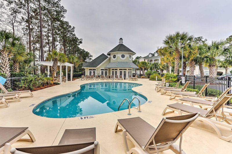 Discover your ideal Myrtle Beach destination at this upscale 2-bedroom, 2-bathroom vacation rental condo!