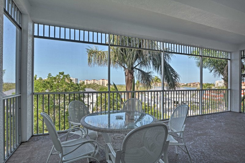 Experience the magic of Marco Island from this 2-bedroom, 2-bathroom vacation rental condo!