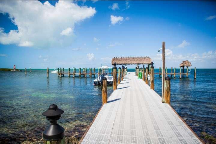 Beautiful marina area.