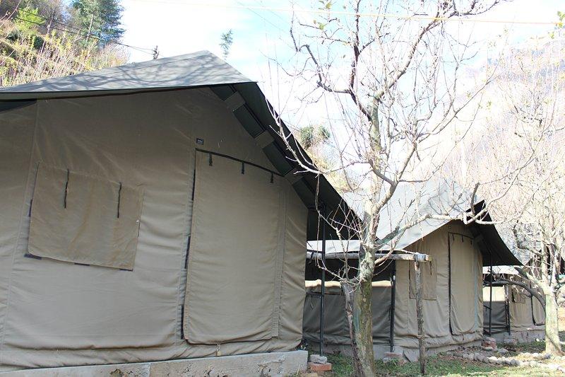 Into Wild Himalaya Camps Tirthan Valley, casa vacanza a Jibhi