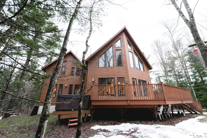 Le Fitchbay - Country House with Spa, vacation rental in North Hatley