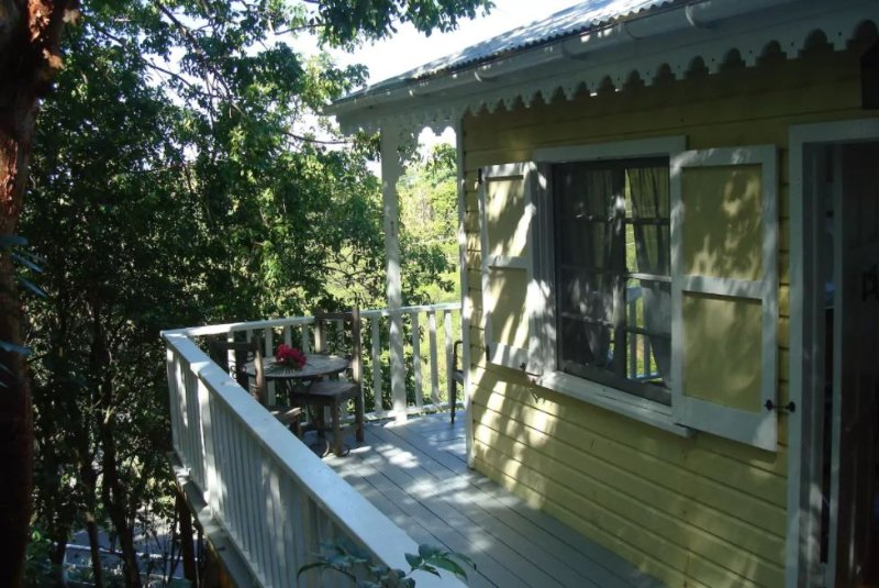 Treehouse at Galley Bay Cottages, holiday rental in Five Islands Village