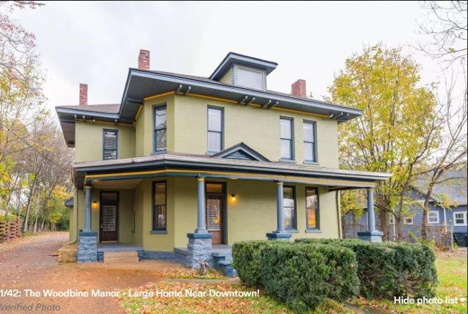 Notre belle maison historique avec beaucoup de caractère, le Manoir Woodbine.