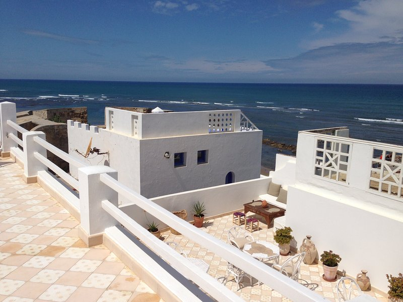 Villazila Maison d'hôte sur l'océan, alquiler de vacaciones en Arcila
