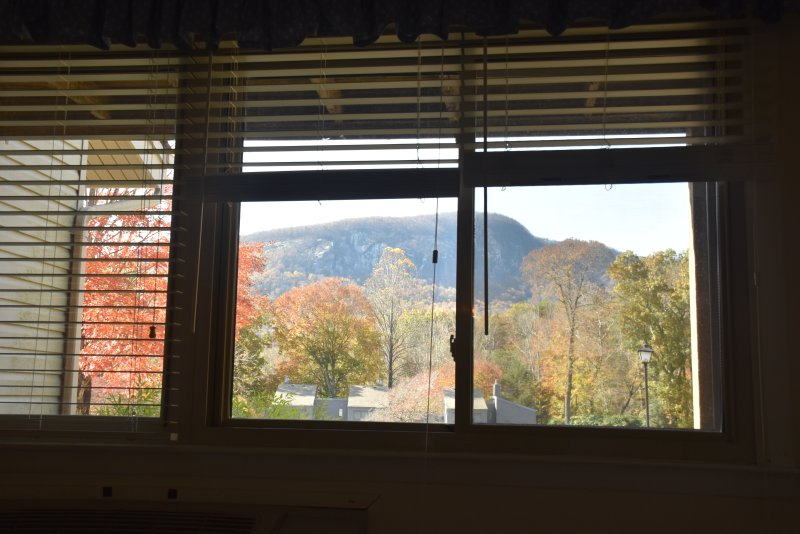 View of golf course and Bald Mountain from bedroom