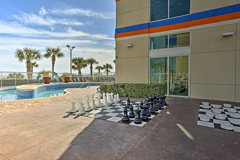 The resort has fun amenities both big and small.