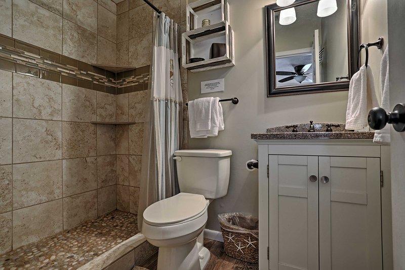 Risciacquare in questo bagno incontaminata prima di andare a letto.