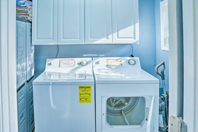 Halten Sie Ihre Garderobe frisch, wenn Sie diese in-Einheit Waschmaschinen verwenden.