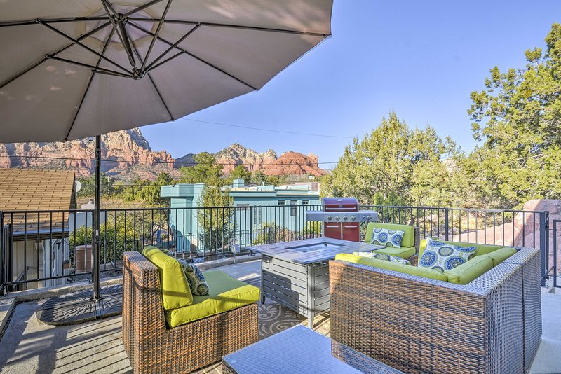Enjoy the best of Arizona when you stay at this Sedona vacation rental house.