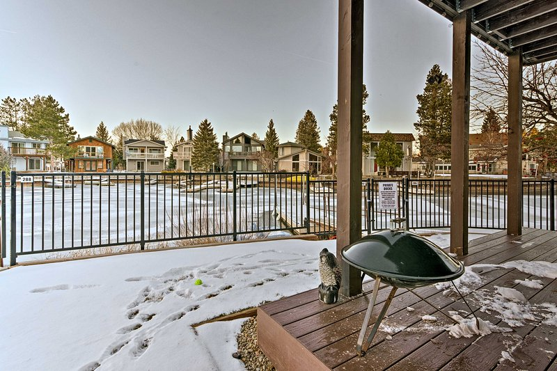 With the lake as your backyard, this Tahoe home serves as your own private oasis!
