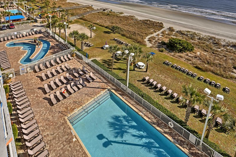 Experience the luxuries of Myrtle Beach's #1 family resort, Dunes Village, when you stay in this vacation rental studio.