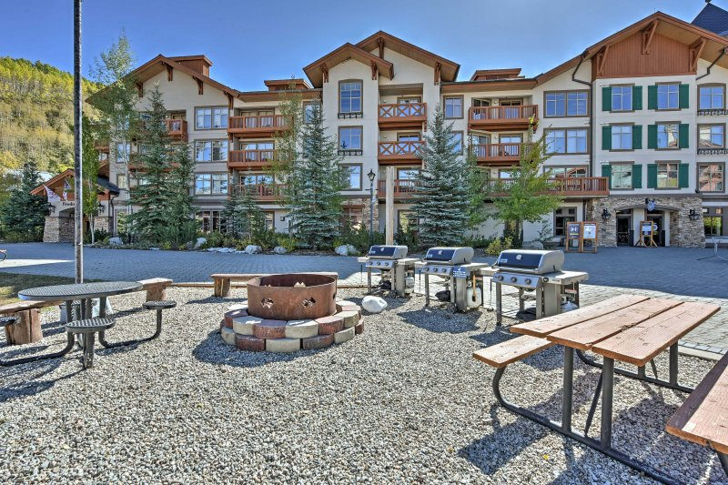 When you're not out on the mountain, take advantage of all that this upscale resort community has to offer!