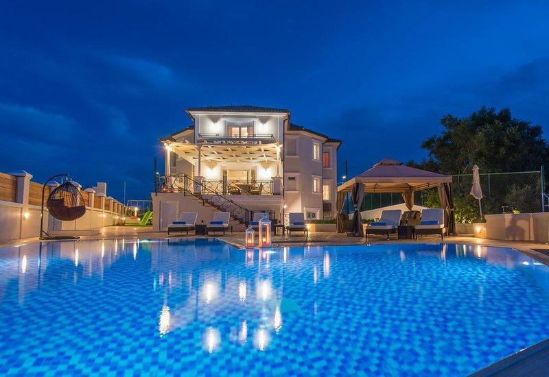 Frido Luxury Seaview Villa, Bochali Zante, vacation rental in Bochali