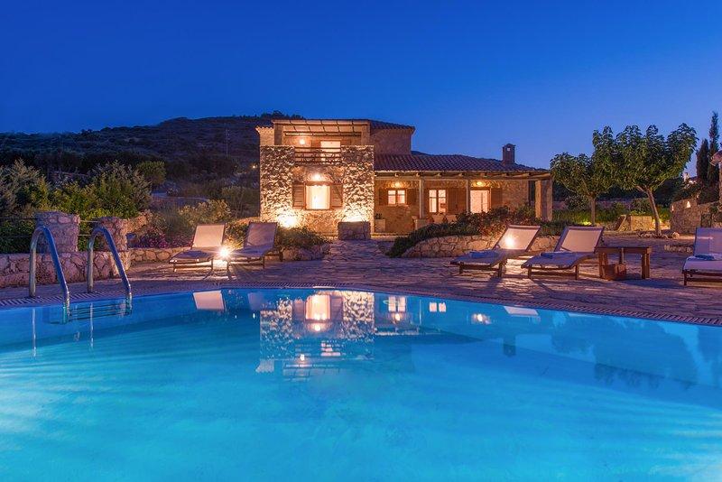 Crystal Seaview Villa, Korithi Zante, location de vacances à Korithi