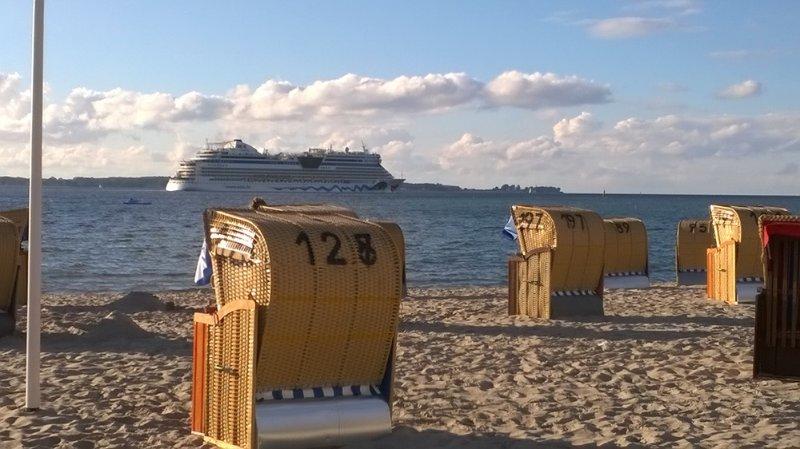 Le navi da crociera prima di Laboe