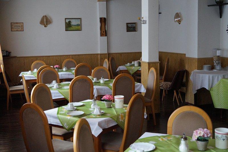 Pension Ritter sala de desayuno
