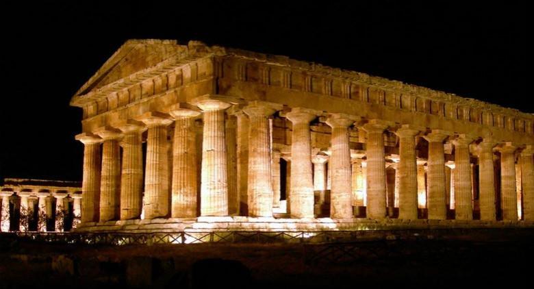 Templi di Paestum. Km 7