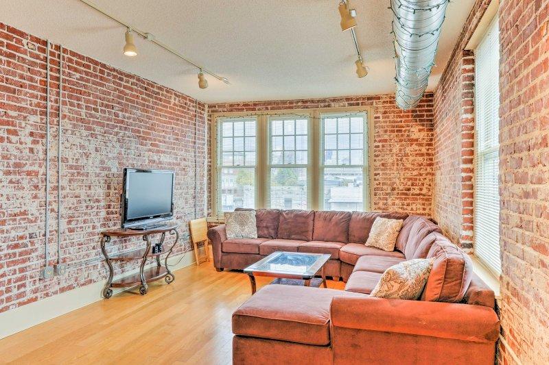 Explorar la histórica ciudad de Memphis durante su estancia en este apartamento de alquiler de vacaciones!
