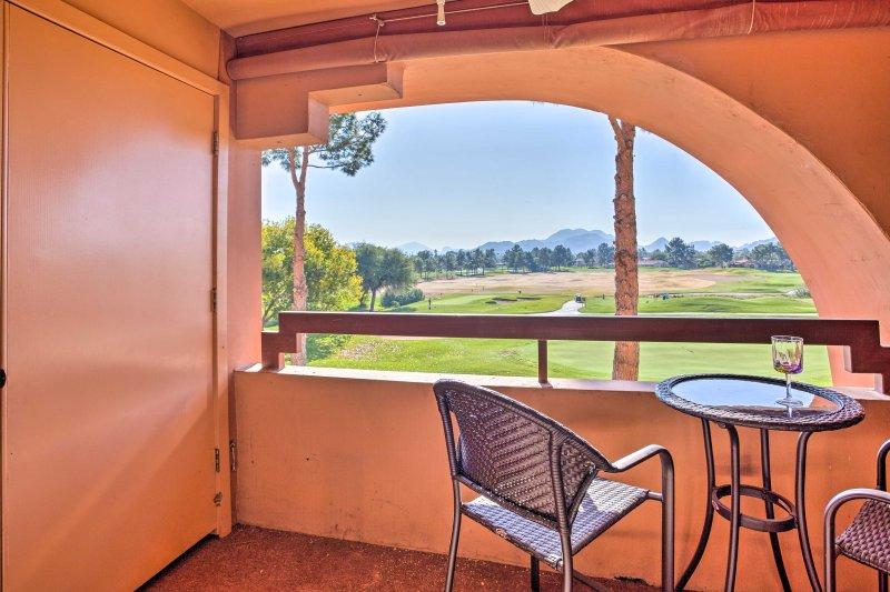 Slip into a relaxing Arizona retreat at this Phoenix vacation rental condo!