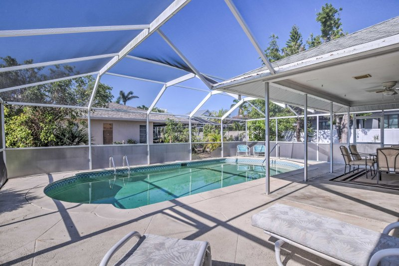Retreat to this Marco Island vacation rental house!