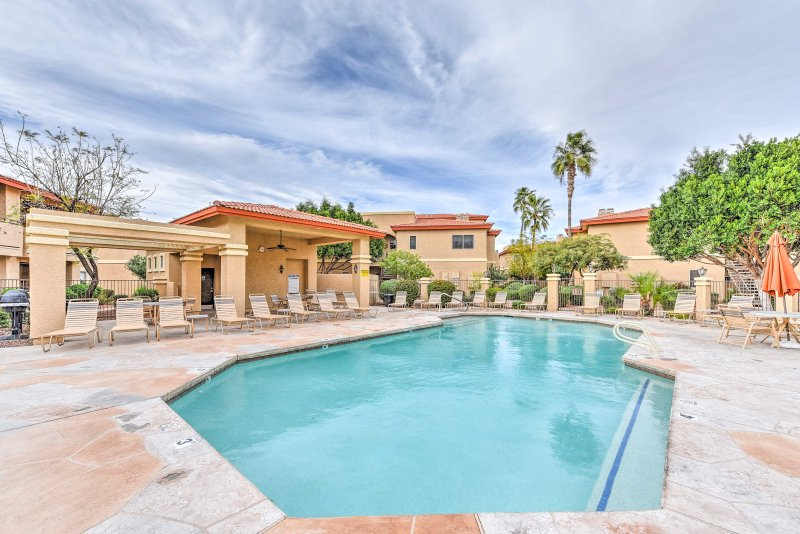 Relax in style at this vacation rental townhome in Phoenix!