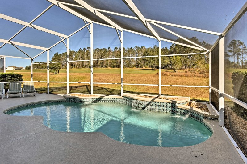 Relax and rejuvenate at this luxurious Davenport vacation rental house.