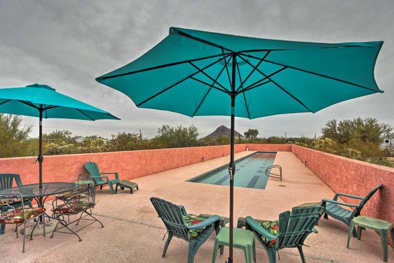 Comece sua aventura no deserto nesta casa de férias em Tucson!