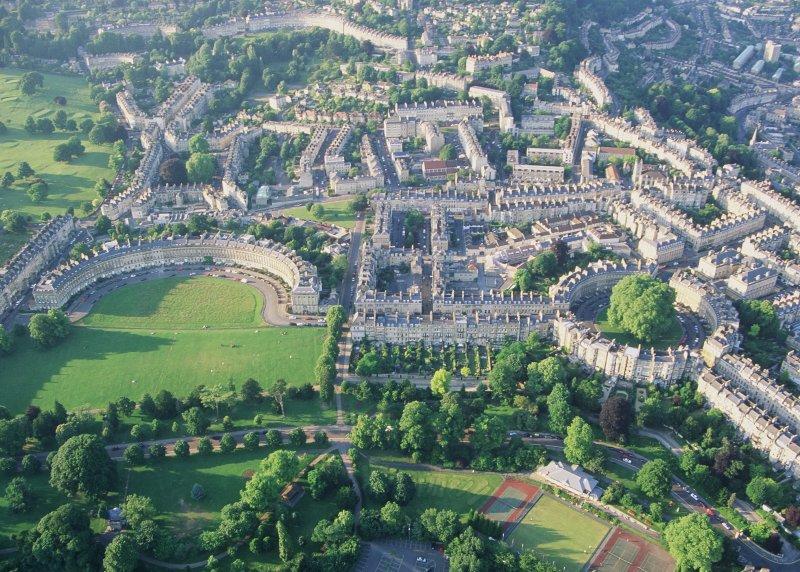 Questa residenza georgiana si trova nel cuore del centro storico di Bath