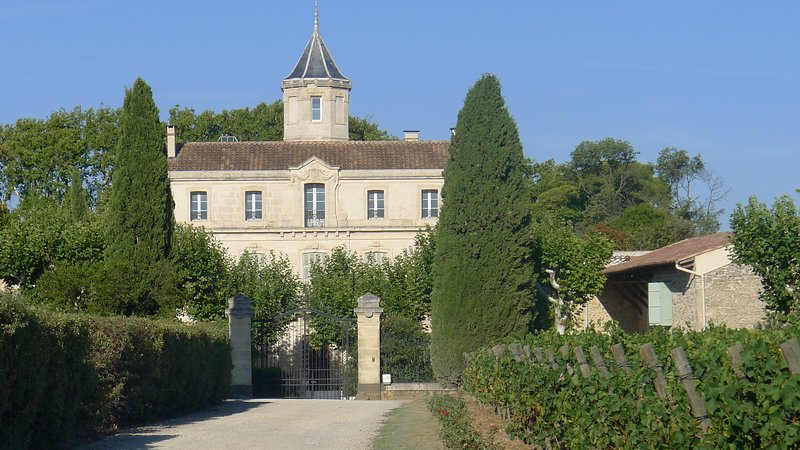 Wine tasting is within walking distance at Domaine Saint Rose