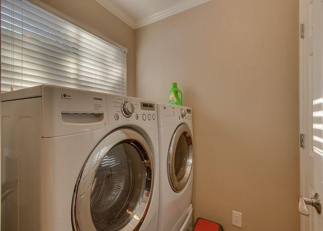 laundry closet off kitchen