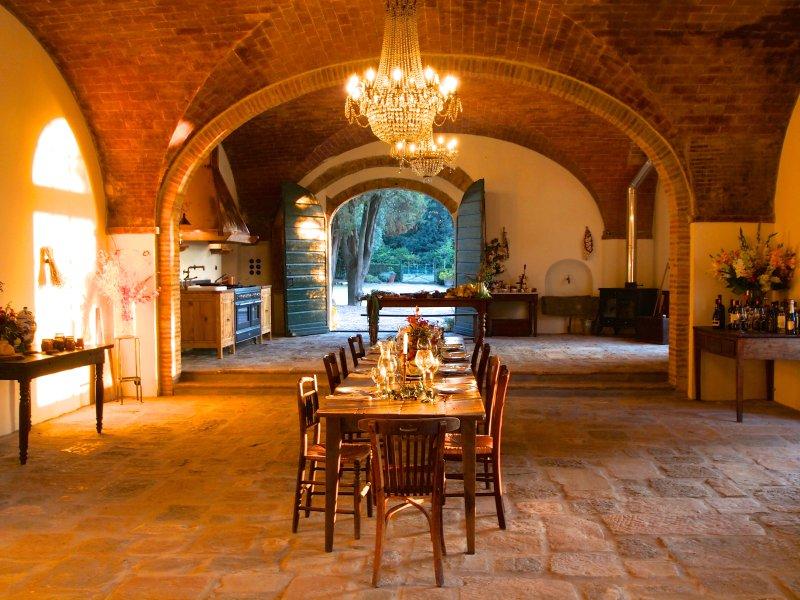 Villa Pozzolo, cocina