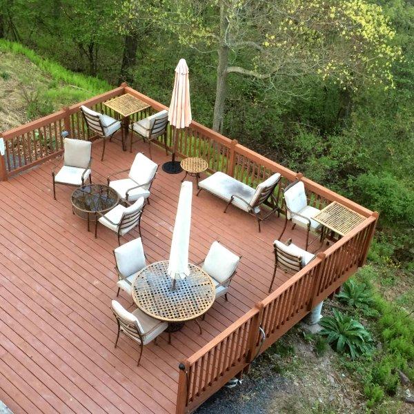 Terrace sun deck