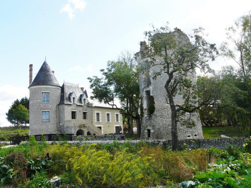 Gîte 11 personnes Château de Fontenay, location de vacances à Dolus-le-Sec