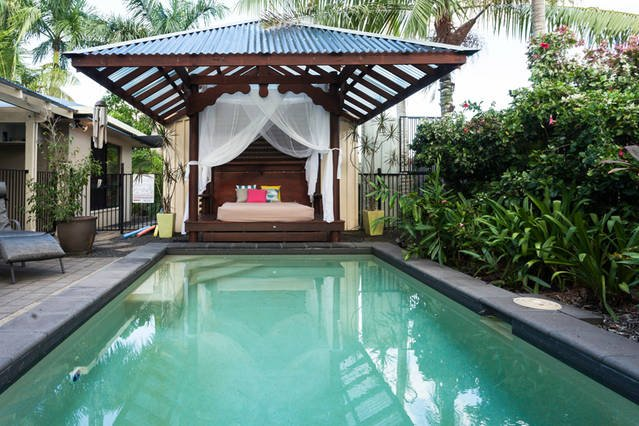 Private pool and daybed for those tropical days and nights - the ultimate in relaxation