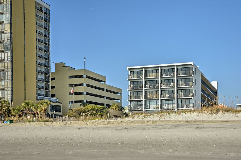 The condo is centrally located near everything Myrtle Beach has to offer!