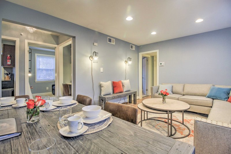 'DC Charm' Condo - Just Minutes to Capitol Hill!, vacation rental in Cheltenham