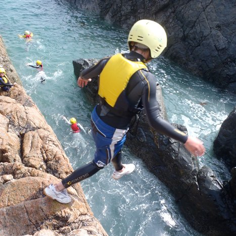 Coasteering and Sea kayaking can be arranged locally.
