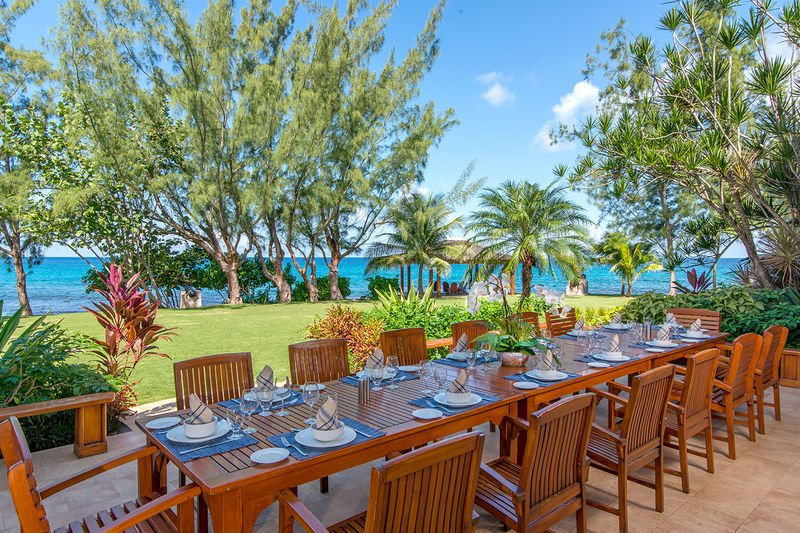 Beachfront Chef Pool Large Families Wedding Fortlands Point 7br Updated 2018 Tripadvisor Discovery Bay Vacation Al