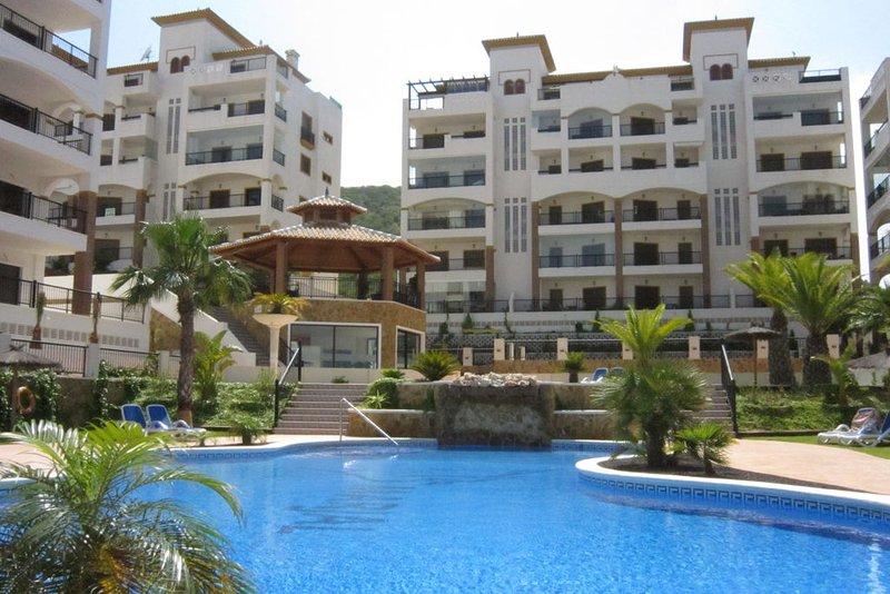 Luxe appartement Marjal Beach met zeezicht, alquiler vacacional en Guardamar del Segura