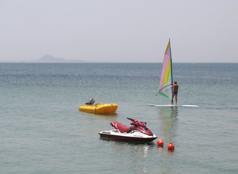 Variety of water sports nearby