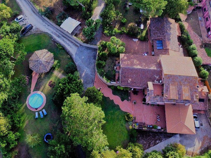 Il Casale dell'Ara delle Rose la Vostra Villa a Roma, casa vacanza a Olgiata