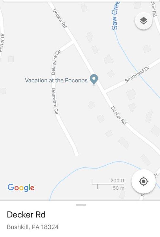 Vacation at the Poconos