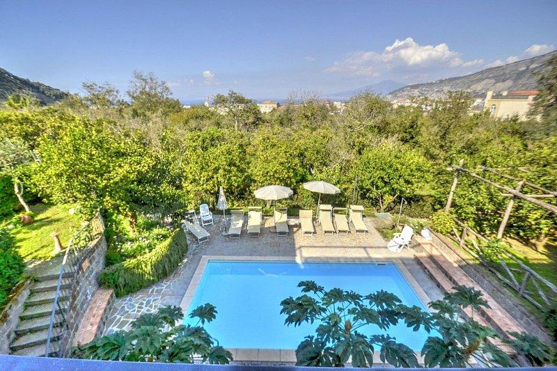 Villa Fillide A, location de vacances à Sant'Agnello