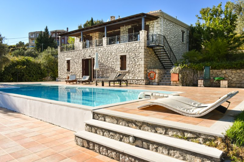 2 bedroom Villa with Pool, Air Con and WiFi - 5218002, vacation rental in Kavallos