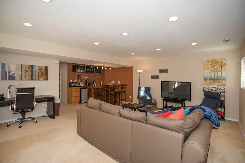 Spacious and all amenities