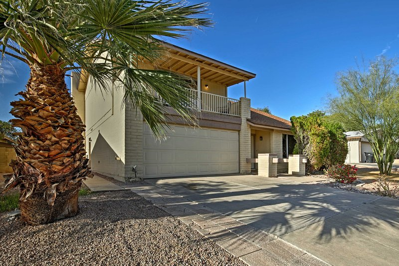 Escape to this ideally located vacation rental home in Mesa for a memorable Arizona getaway!